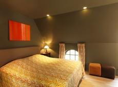 Basiel groene kamer gefotografeerd door Steve De Bruycker